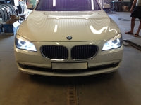BMW 7 Series xenon angel eyes