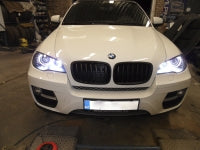 BMW X6 e71, e72 xenon angel eyes