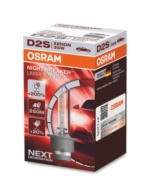 Xenon bulb D2S OSRAM Night Breaker Laser