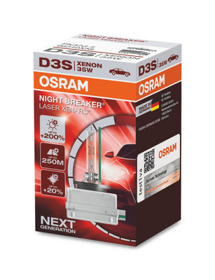 Xenon bulb D3S OSRAM Night Breaker Laser