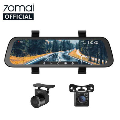 2020 New 9.35''  70mai Mirror Car Recorder Stream Media Car DVR