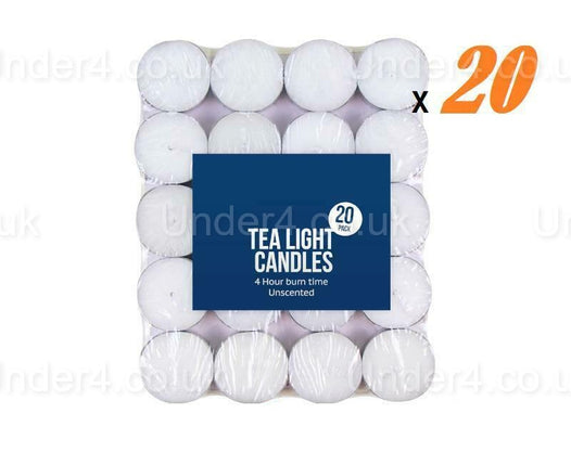 20 x Tea Lights Candle - UNDER4