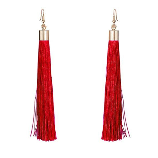 Long Tassel Earrings - UNDER4