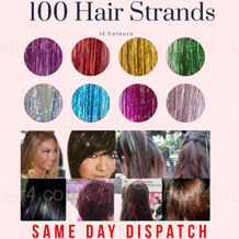 100 Hair Strands Holographic - UNDER4