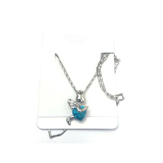 Crystal Heart Shape Necklace - UNDER4