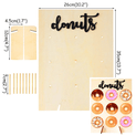 Donut Wall Stand Italic - UNDER4