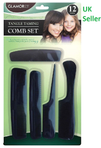 Taming Combs Set 12Piece - UNDER4