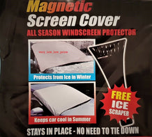 Magnetic Car Windscreen Cover - UNDER4