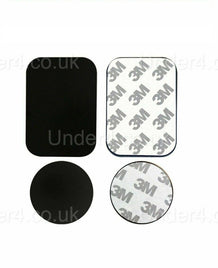 Phone Metal Plate - Circle / Rectangle - UNDER4