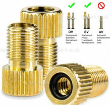 Bike Brass Adapter Schrader Valve - UNDER4