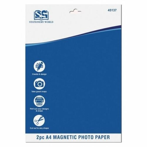 2pc A4 Magnetic Photo Paper - UNDER4