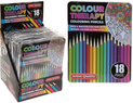 Professional Artist 18pc Colouring Pencils in Presentation Tin by Colour Therapy - UNDER4