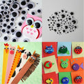 700 Pcs Mixed Wobbly Wiggle Googly Eyes - UNDER4
