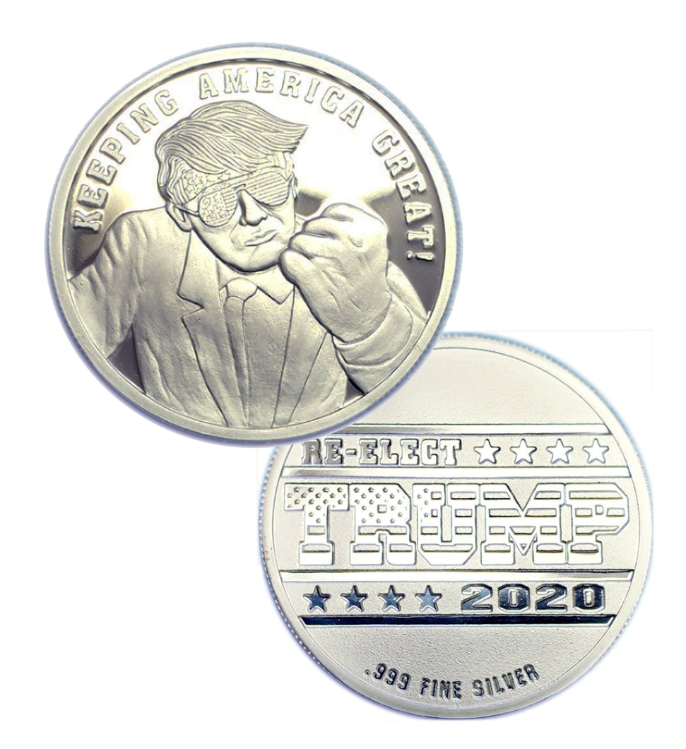Twas the Night Before Christmas BU 10-1 oz .999 Fine Silver Rounds