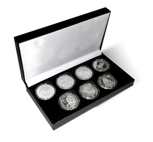 Twas the Night Before Christmas Coin Set with Black Presentation Box