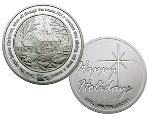 Coin 1, Twas The Night Before Christmas by BEX Coin Minting