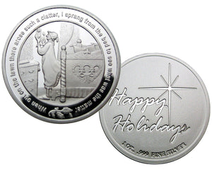 Coin 3, Twas The Night Before Christmas by BEX Coin Minting