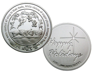 Coin 2, Twas The Night Before Christmas by BEX Coin Minting