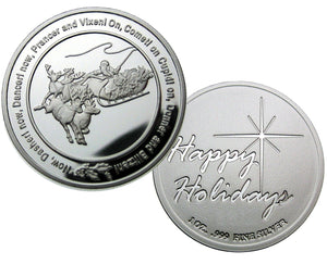 Coin 4, Twas The Night Before Christmas by BEX Coin Minting