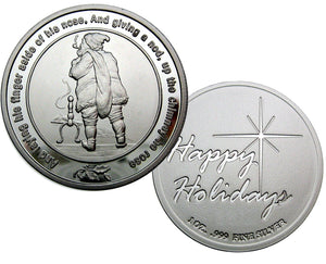 Coin 6, Twas The Night Before Christmas by BEX Coin Minting