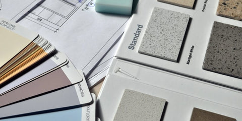 Colour palettes for office rooms