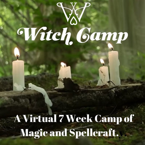 Virtual Witch Camp 2019: Book of Spells