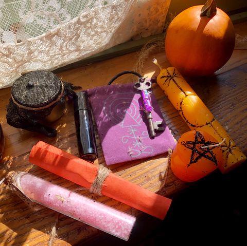 Ritual:  A Custom Handcrafted Witch Spell Box.