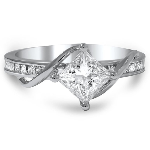 Anillo Moderno Diamante Princess - KONSENS