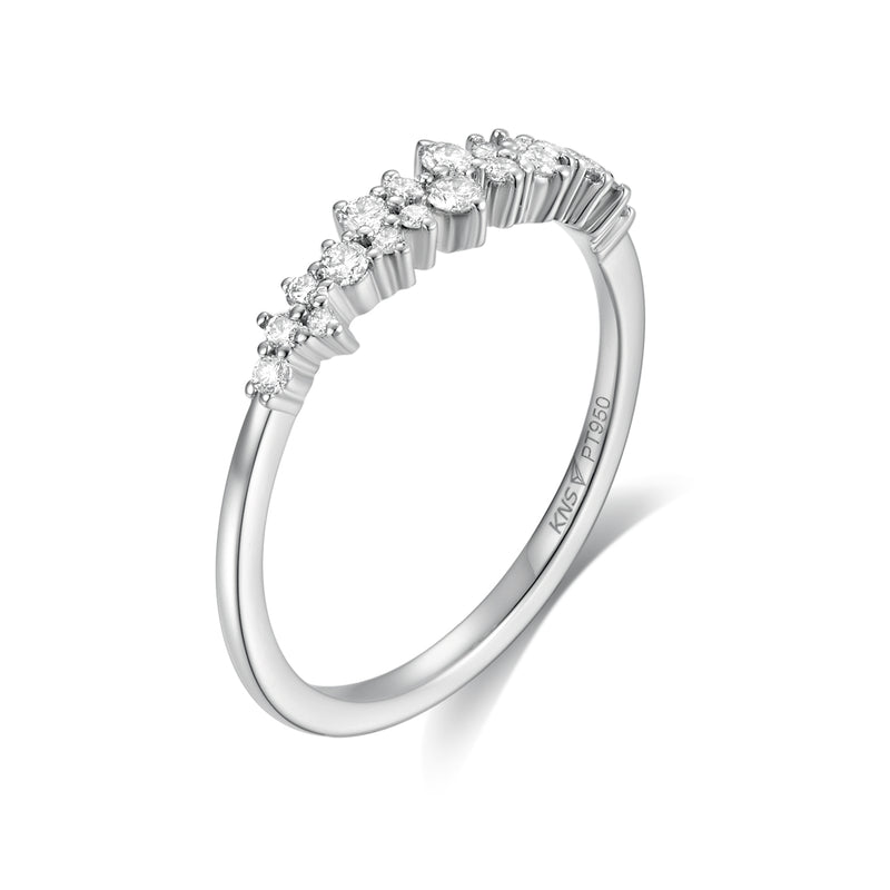 Anillo de Diamantes Sparkle - KONSENS