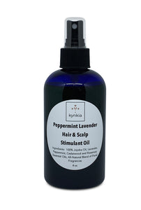 Peppermint Lavender Hair & Scalp Stimulant Oil - 8 oz