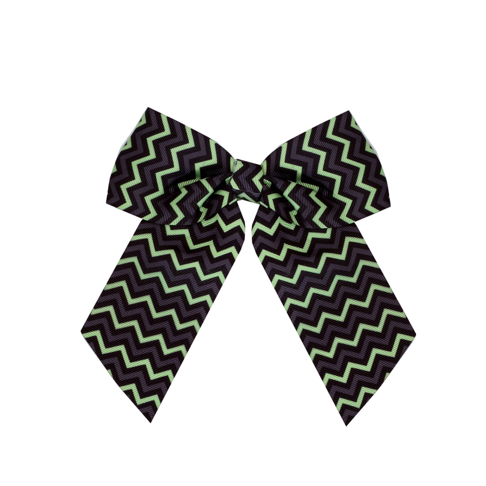 "Pastry Girls 2 1/4"" Slant Tail Print Bow"