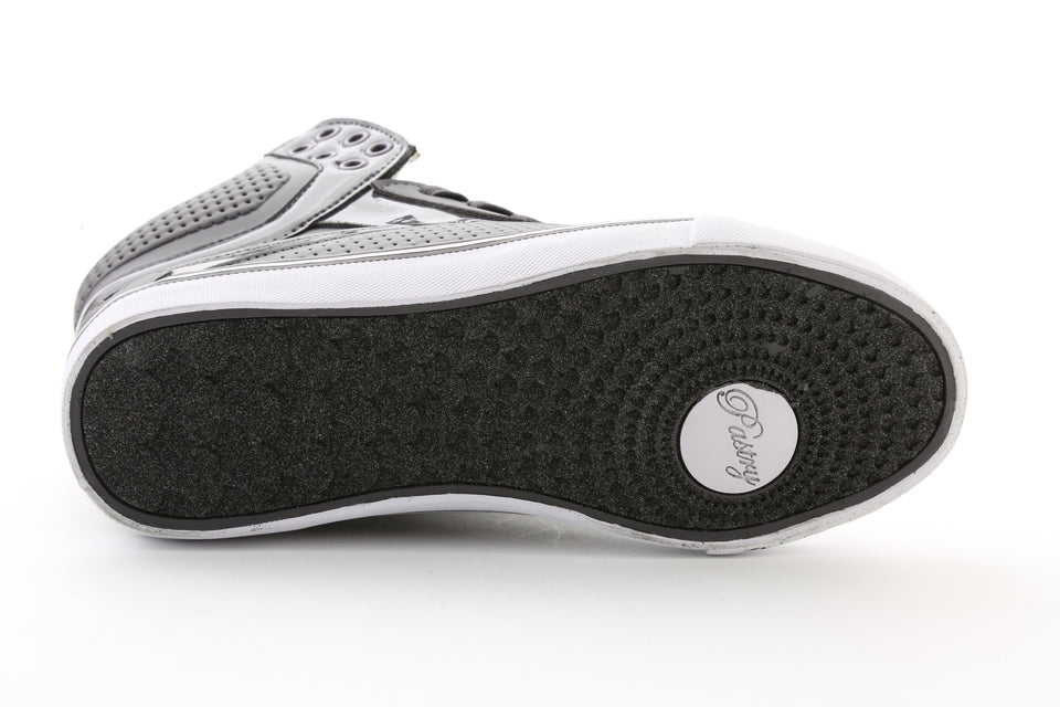 Pastry Pop Tart Grid Adult Sneaker in Charcoal