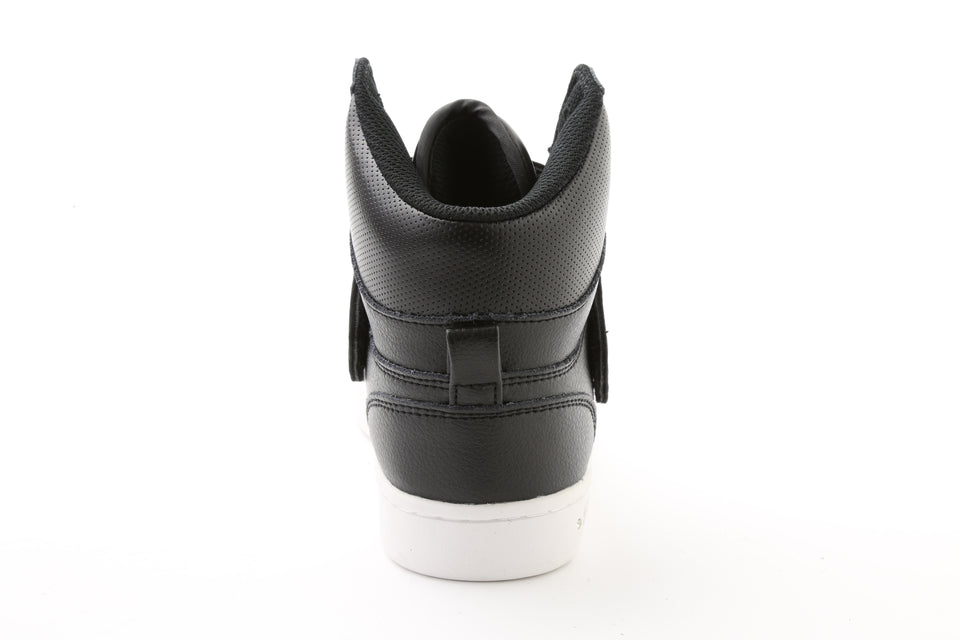 Pastry Glam Pie Custom Youth Dance Sneaker in Black/White