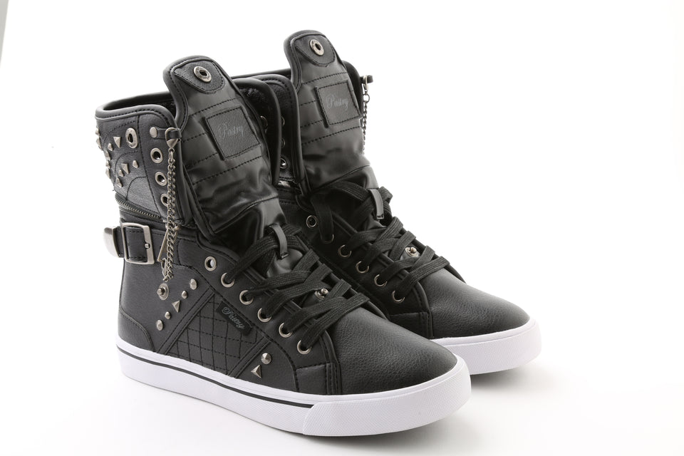 Pastry Sugar Rush Adult Sneaker in Black/White