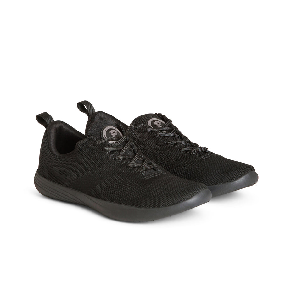 Pastry Studio TR2 Adult Sneaker in Black/Black