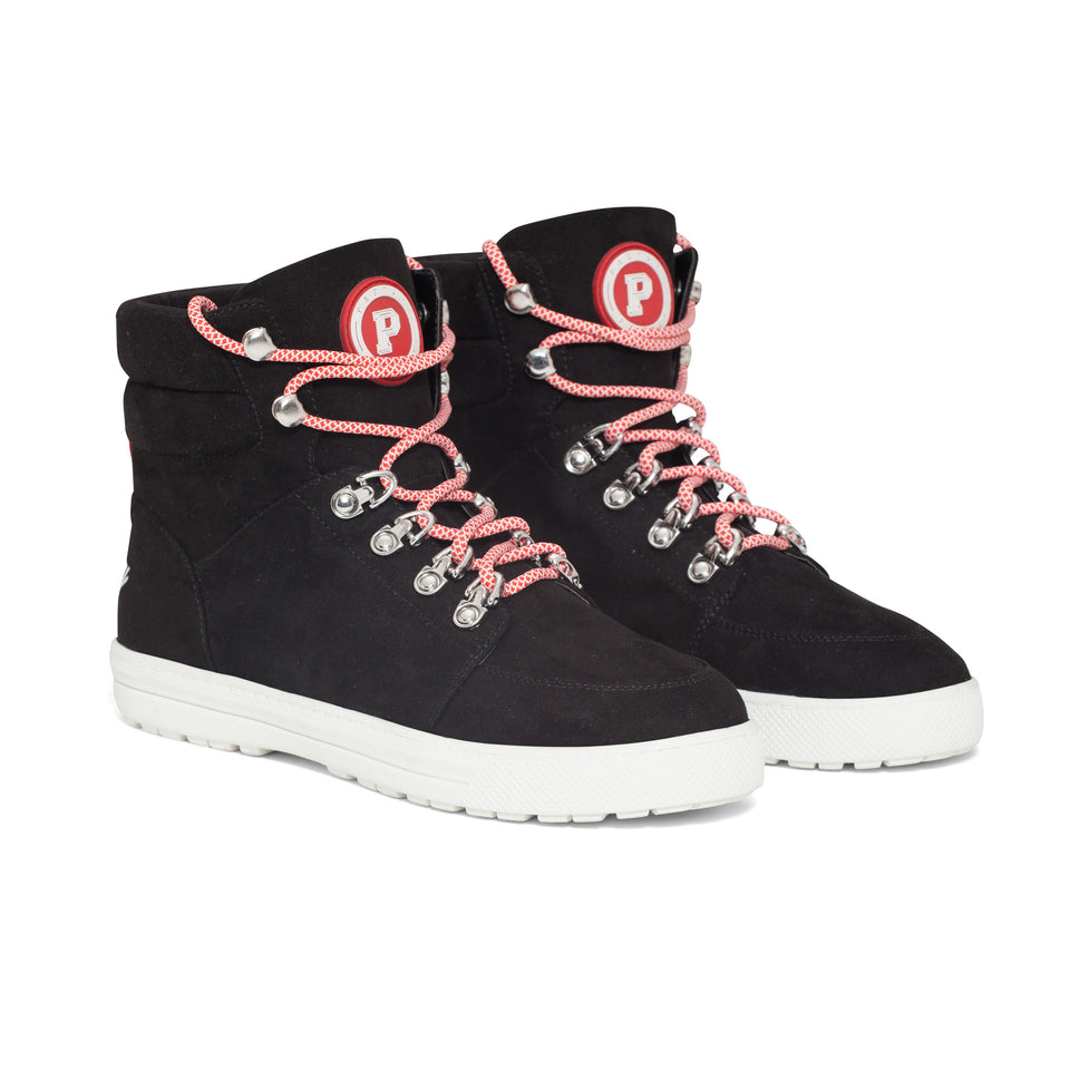Pastry Riverside Adult Sneaker in Black/Red Image Number 8