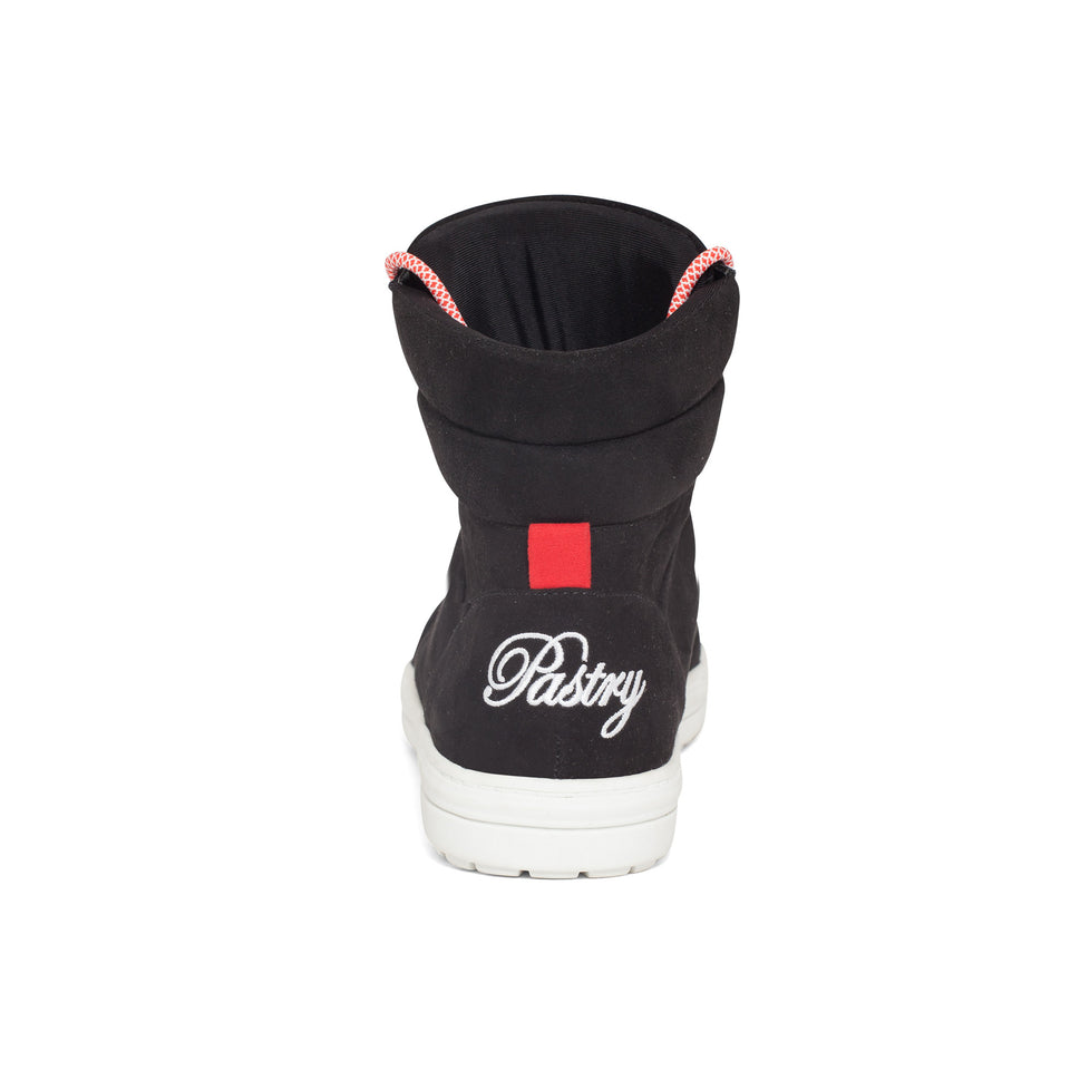 Pastry Riverside Adult Sneaker in Black/Red