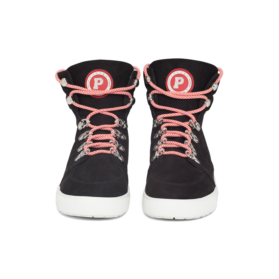 Pastry Riverside Adult Sneaker in Black/Red Image Number 4