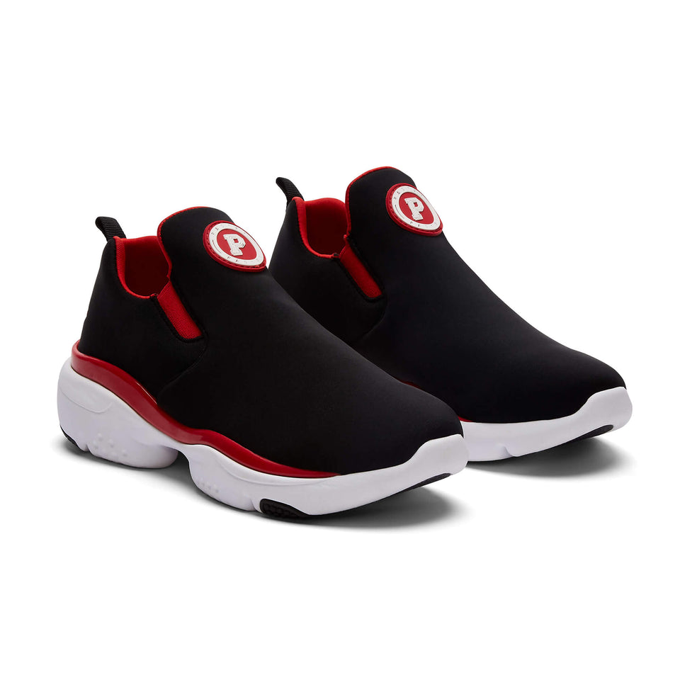 Pastry Adult Phoenix Sneaker in Black/Red Image Number 7