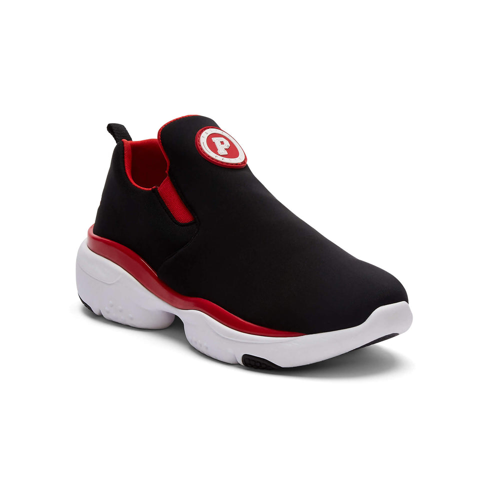 Pastry Adult Phoenix Sneaker in Black/Red