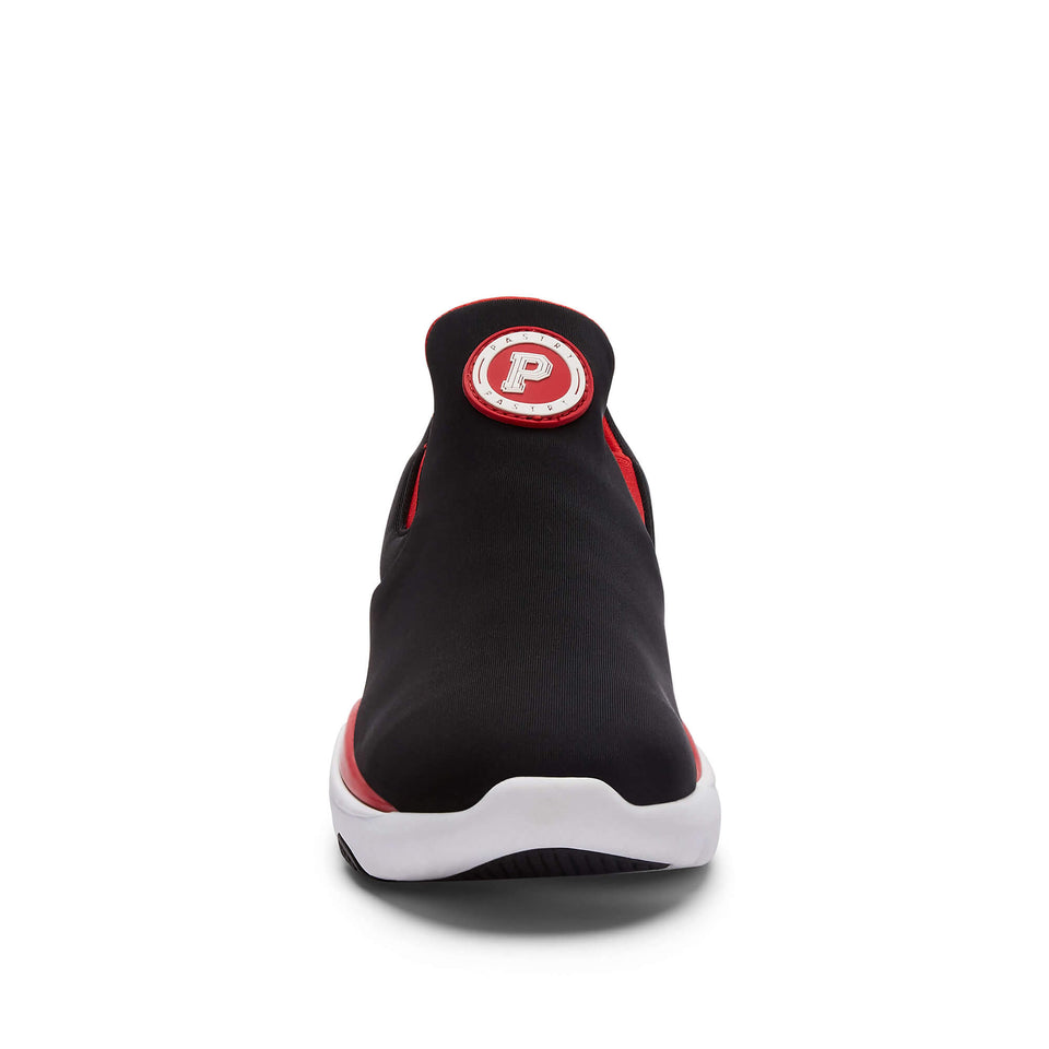 Pastry Adult Phoenix Sneaker in Black/Red Image Number 3