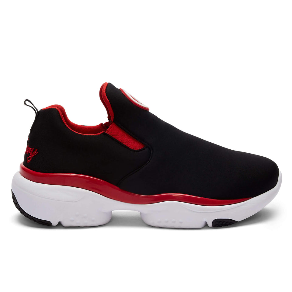 Pastry Adult Phoenix Sneaker in Black/Red Image Number 0