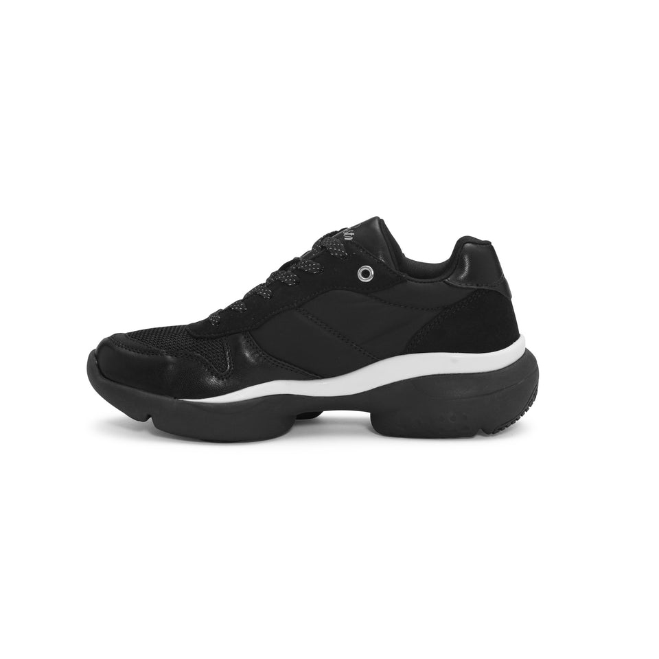 Pastry Adult Carla Sneaker in Black/White