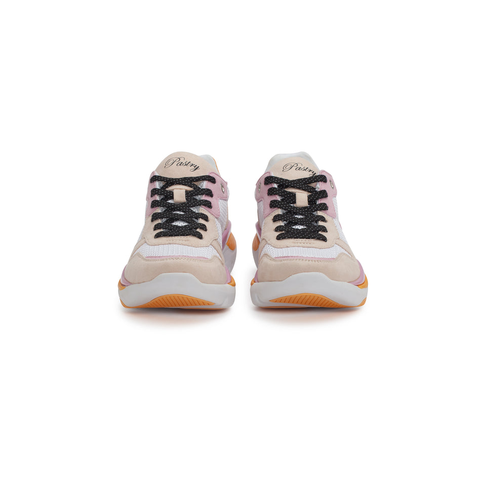 Pastry Adult Carla Sneaker in White/Salmon/Pink Image Number 6