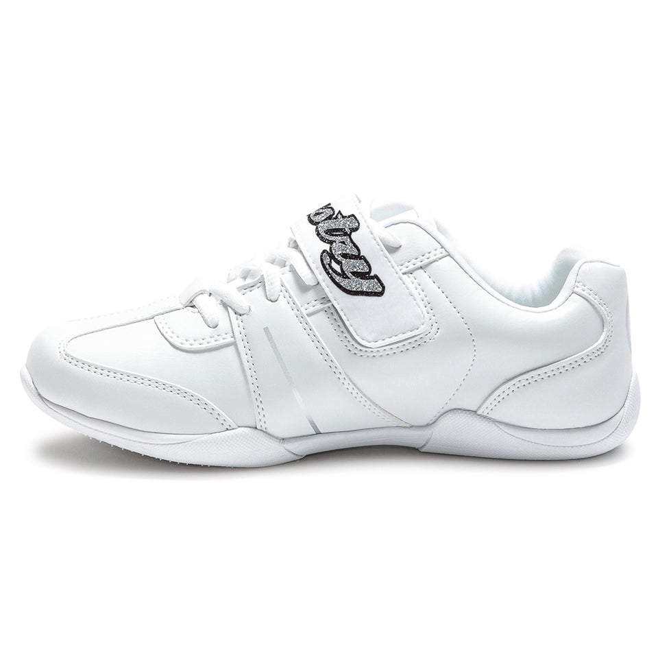 Pastry Custom Spirit Adult Cheer Sneaker in White with Customized Option