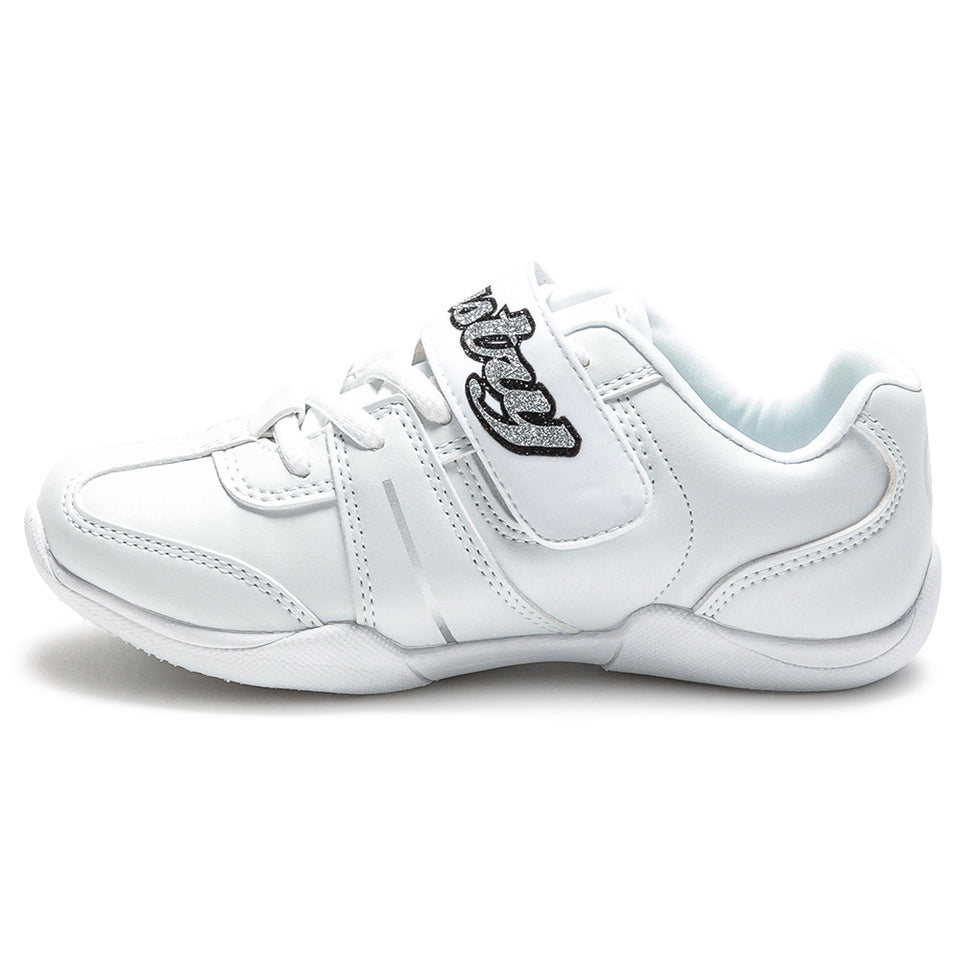 Pastry Custom Spirit Youth Cheer Sneaker in White