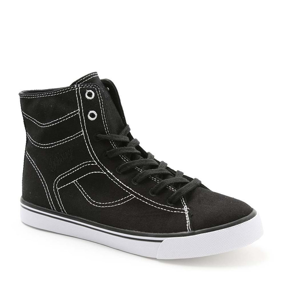 Pastry Cassatta Adult Dance Sneaker in Black/White
