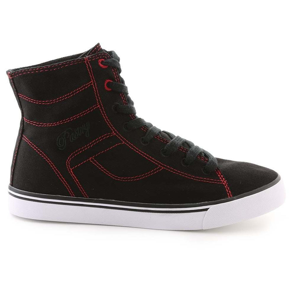 Pastry Cassatta Adult Dance Sneaker in Black/Red