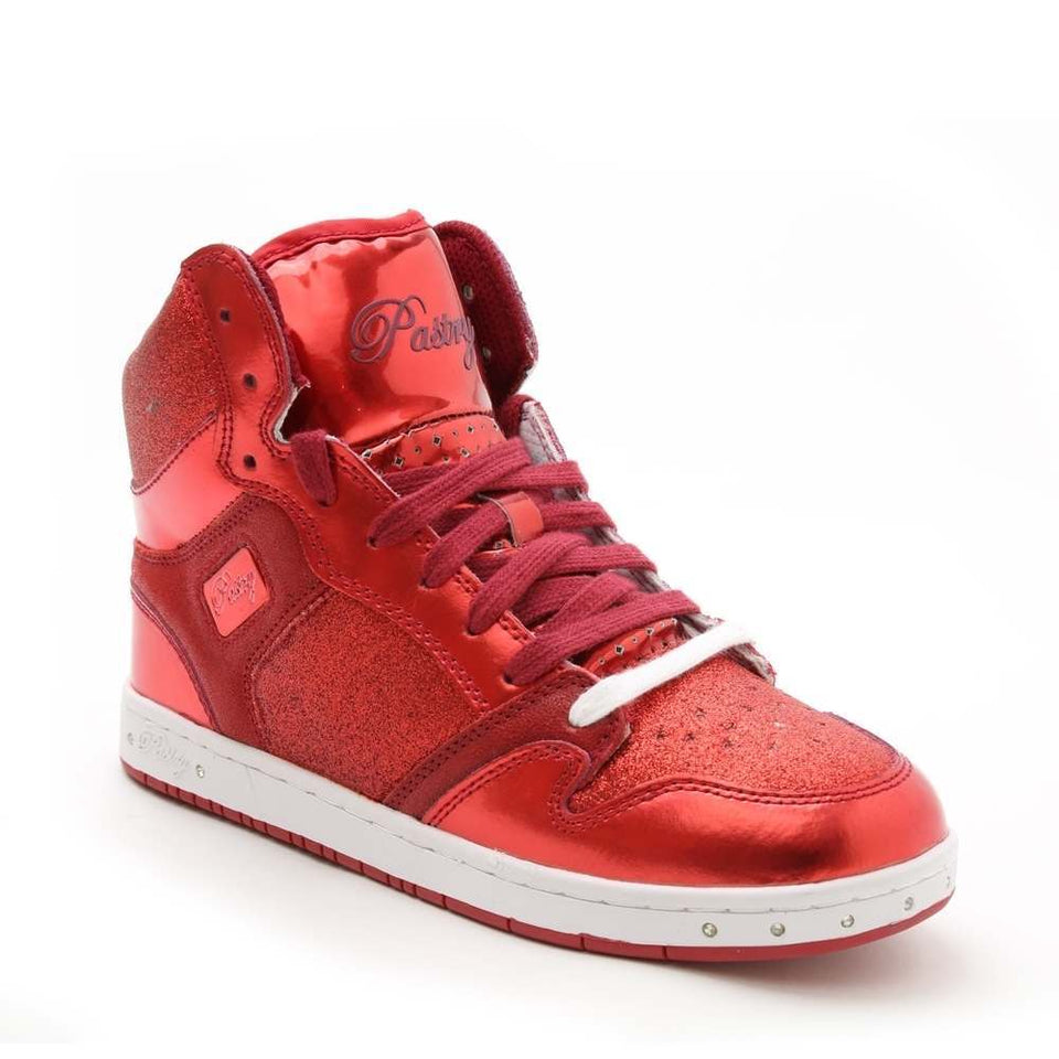 Pastry Glam Pie Glitter High-Top Sneaker /& Dance Shoe for Adults