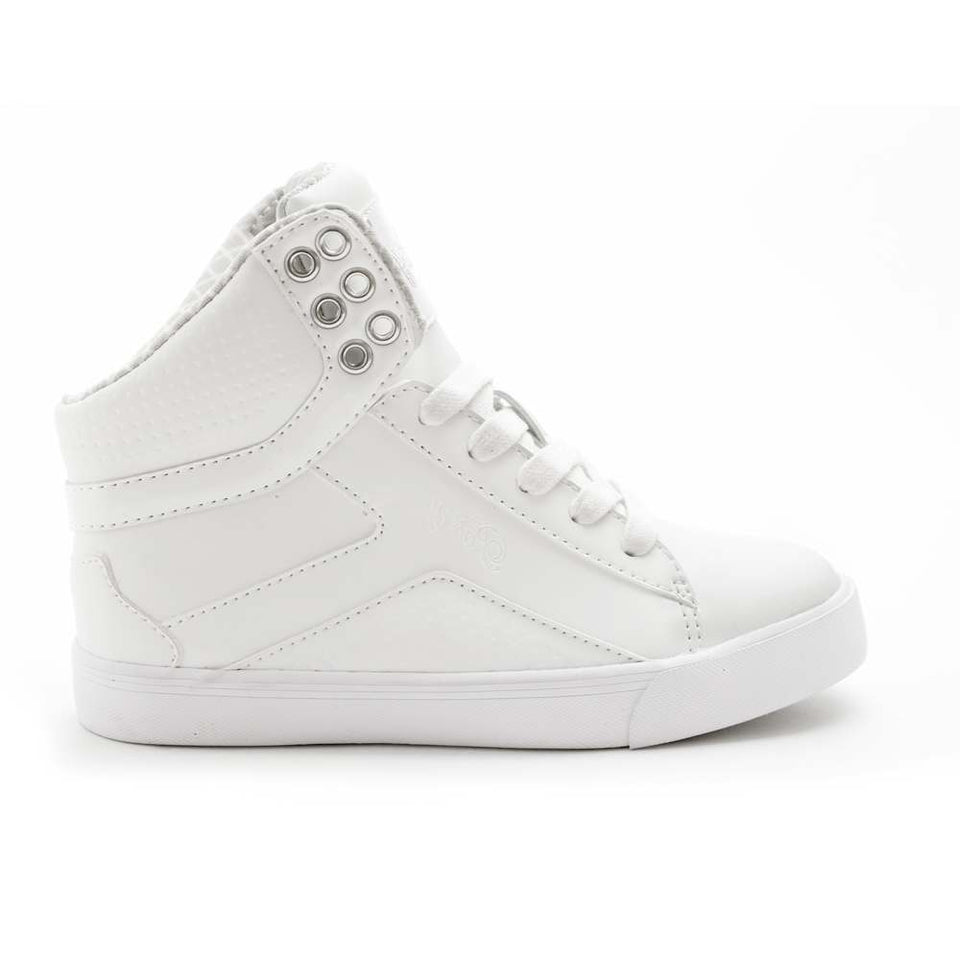 Pastry Pop Tart Grid Youth Sneaker in White
